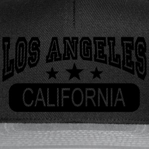 los angeles california Tops - Snapback cap