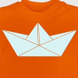 papier origami boat Shirts - Baby T-Shirt