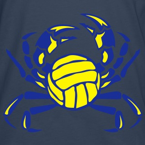 volleyball crabe logo club sport Débardeurs - T-shirt manches longues Premium Homme