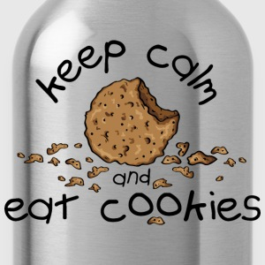 Keep calm and eat cookies Tee shirts - Gourde