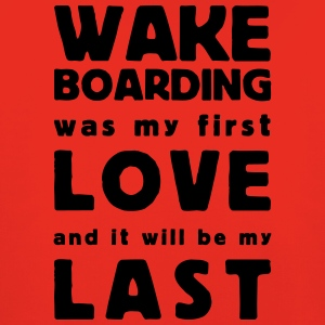 wakeboarding was my first love T-shirts - Kinderen trui Premium met capuchon