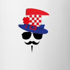 Croatia go Moustache Top - Tazza