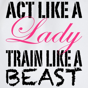 Act Like A Lady Top - Sacca sportiva