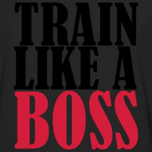 Train Like A Boss T-shirts - Mannen Premium shirt met lange mouwen