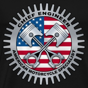 chief engineer 2 T-Shirts - Men's Premium T-Shirt
