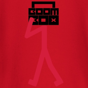 Boom Box Stick Man T-Shirts - Baby Long Sleeve T-Shirt