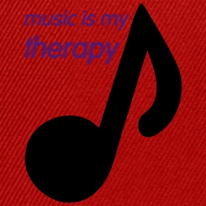 Music is my Therapy T-shirts - Snapback cap