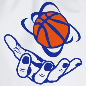 basketball main hand ouverte open ballon Tee shirts - Sac de sport léger