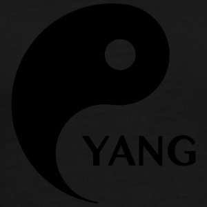 Yang looking for Yin, Part 2, tao, dualities T-shirts - Herre premium T-shirt