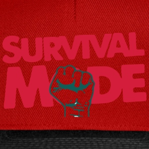 Survival Mode T-skjorter - Snapback-caps