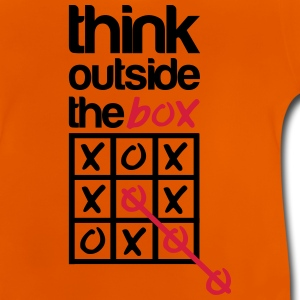 Think outside the box Skjorter - Baby-T-skjorte