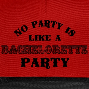 Bachelorette Party Black Tops - Snapback Cap