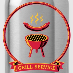 Grill Service - Trinkflasche