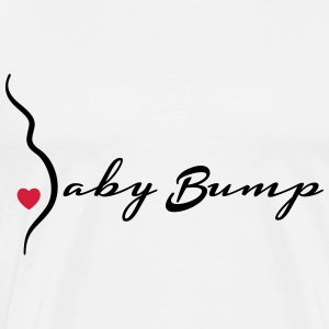 baby bump Tops - Men's Premium T-Shirt