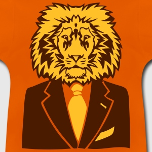 lion costume cravate business king roi Tee shirts - T-shirt Bébé