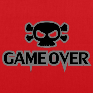 GAME OVER Totenkopf - Stoffbeutel