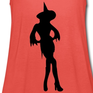 Heks / Witch / Halloween T-shirts - Dame tanktop fra Bella