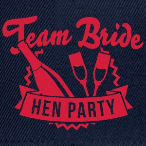 Team Bride - Hen Party Toppar - Snapbackkeps