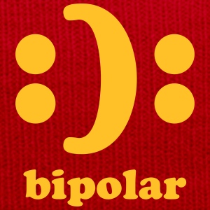 bipolar T-Shirts - Winter Hat