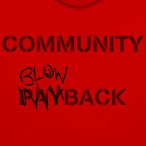 Community Blowback - Sweat-shirt contraste