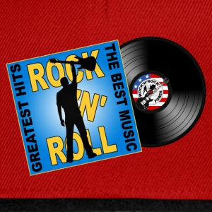 Rock 'n' Roll design 05 Tee shirts - Casquette snapback
