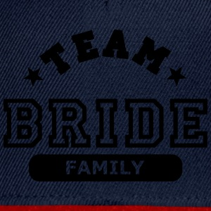 team bride family Toppar - Snapbackkeps