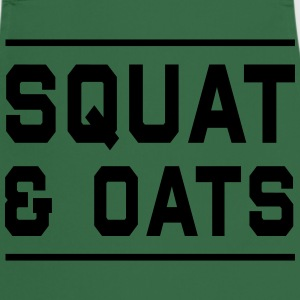Squat & Oats T-Shirts - Cooking Apron
