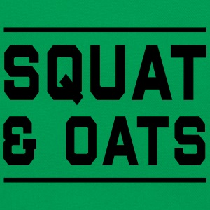 Squat & Oats T-Shirts - Retro Bag
