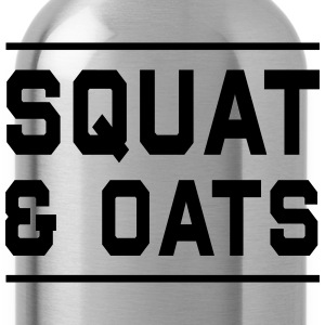 Squat & Oats T-Shirts - Water Bottle