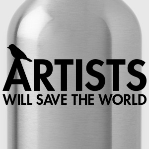 Artists will save the world Tee shirts - Gourde