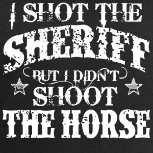I Shot The Sheriff, But Not The Horse - White Tops - Men's Sweatshirt by Stanley & Stella