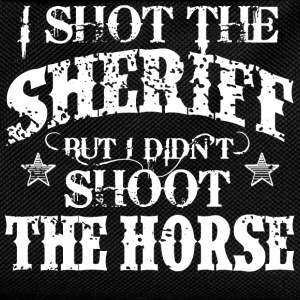 I Shot The Sheriff, But Not The Horse - White Tops - Kids' Backpack