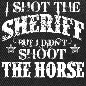 I Shot The Sheriff, But Not The Horse - White Tops - Snapback Cap