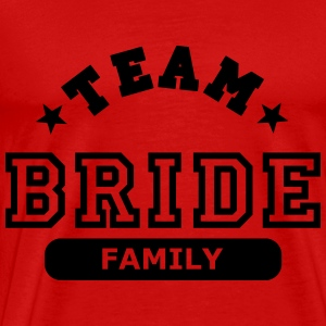 team bride family Tops - Men's Premium T-Shirt