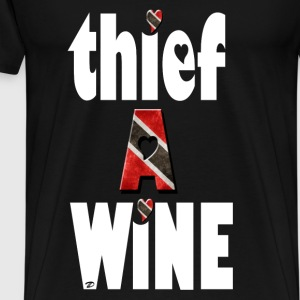 thief a wine Tops - Men's Premium T-Shirt