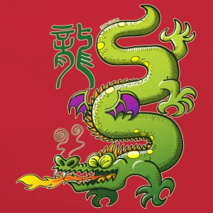 Chinese Dragon Breathing Fire Shirts - Retro Bag
