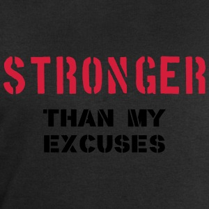 Stronger Than My Excuses T-shirts - Sweatshirt herr från Stanley & Stella