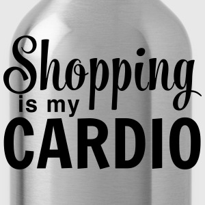 Shopping Is My Cardio T-Shirts - Water Bottle