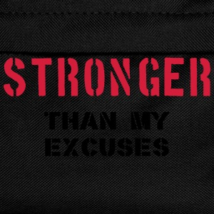 Stronger Than My Excuses Tops - Kids' Backpack