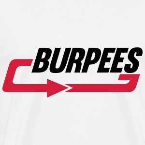 Burpees Tops - Mannen Premium T-shirt