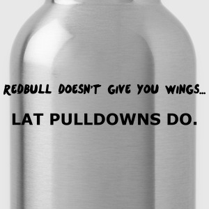 Redbull doesn't give Wing T-Shirts - Trinkflasche