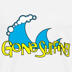 Gone Surfing Toppe - Herre premium T-shirt
