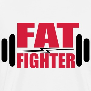 Fat Fighter Toppar - Premium-T-shirt herr