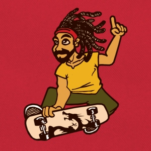 rasta squate T-shirts - Retro taske