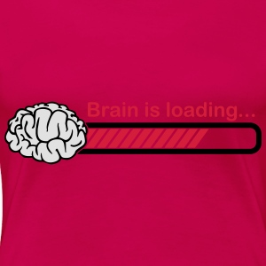 brain is loading Tops - Women's Premium T-Shirt