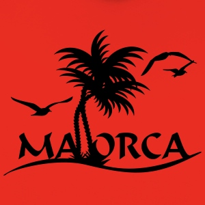 Mallorca-Palmen / Mallorca with palm trees (1c) T-Shirts - Kids' Premium Hoodie