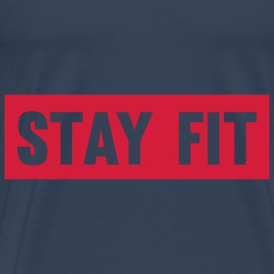 Stay Fit Tops - Men's Premium T-Shirt