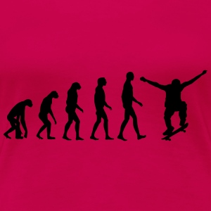 skate evolution Tops - Frauen Premium T-Shirt