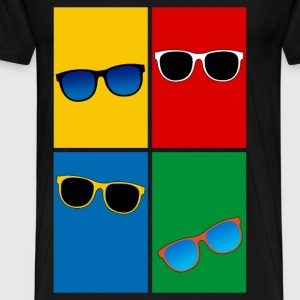 summer sunglasses Tops - Men's Premium T-Shirt