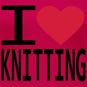 i_love_knitting Tops - Women's Premium T-Shirt